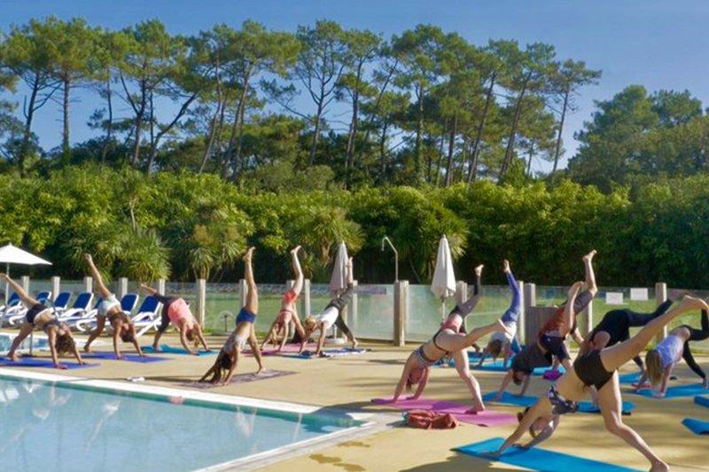 Jóga ve Francii - pobyt s jógou