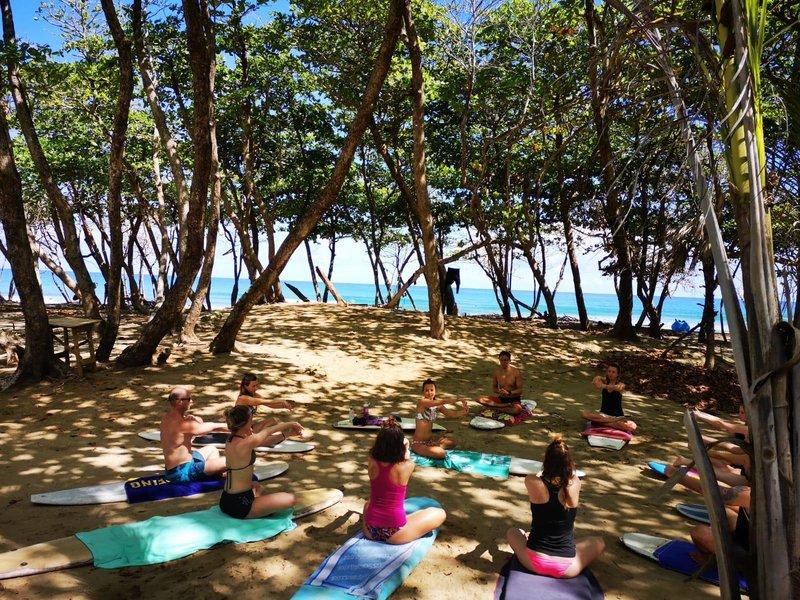 Surf, jóga a Karibik - dovolená s jógou