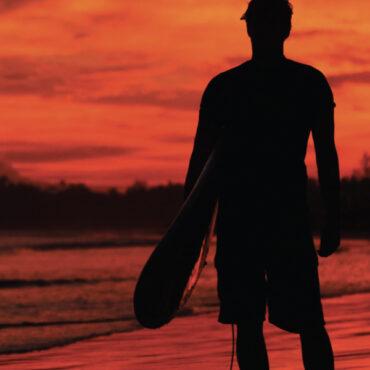 Surf, jóga a Karibik