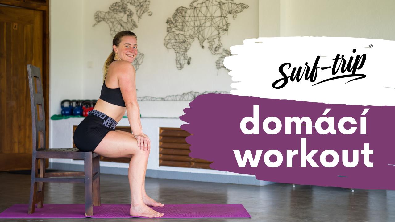 Domácí workout s Lucií Minářovou - dovolená s jógou